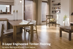 3-Layer Engineered Timber Flooring