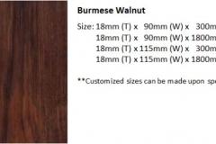 burmese walnut size