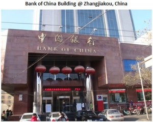 Bank of China Building Zhangjikou,China