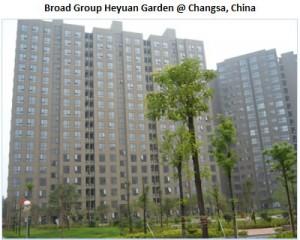 Broad Group Luyuan Garden @ Changsa, China