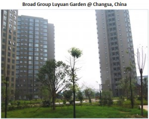 Broad Group Luyuan Garden in Changsa, China