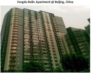 Fengdu Bolin Apartment  @ Beijing China
