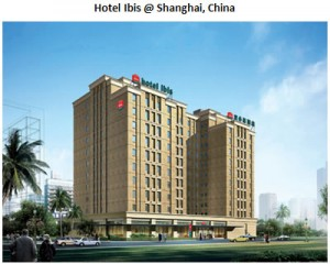 Hotel Ibis in Shainhai, China