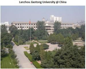 Lanzhou Jaaotong University @ chaina