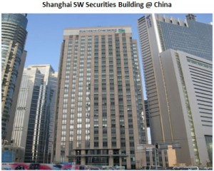 Shanghai SW Securities Building in China