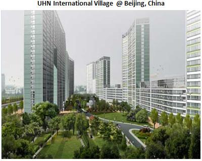 UHN International Village @ beijing, China