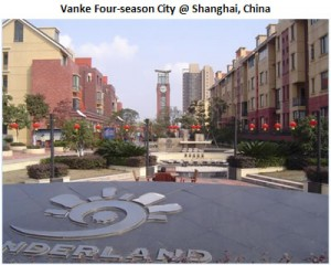Vanke Four Seasons City @ Shanghai, China