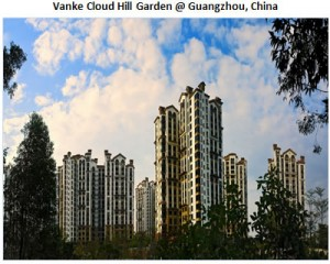 Vanke cloude hill Garden @ Guangzhou, China
